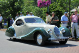 1938 Talbot-Lago Teardrop Coupe by Figoni & Falaschi, owned by the Cantore Family, Oakbrook, IL (4594)