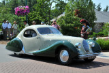 1938 Talbot-Lago Teardrop Coupe by Figoni & Falaschi, owned by the Cantore Family, Oakbrook, IL (4595)