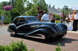 1936 Delahaye 135M SWB Competition Coupe by Figoni & Falaschi, owned by James Patterson of Louisville, KY (4817)