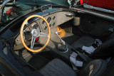 Shelby Cobra replica, with what appears to be snakeskin upholstery (4042)