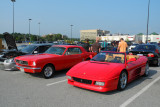1965 Ford Mustang custom and early 1990s Ferrari 348 Spider (4079)
