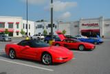 Early 2000s Chevrolet Corvette (C5), 1980s Ferrari Testarossa and 1979 Triumph TR7 (4095)