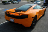 Two-month-old 2012 McLaren MP4-12C, with about 1,300 miles (4131)