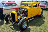 1932 Ford 5-window custom coupe hot rod (5346)