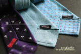 All three ties were on sale. Got them at very attractive prices.  :)