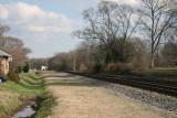 CSX Railroad South 2 Toward Cartersville