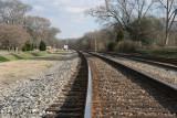 CSX Railroad South Toward Cartersville
