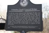 Euharlee Creek Covered Bridge Sign