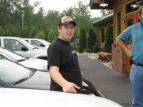Aaron At Texas Roadhouse