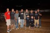 6-30-12 Placerville Speedway: KWS Sprints - BCRA Midgets