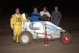 8-25-12 Marysville Raceway Park: BCRA Midgets - 360 Sprints