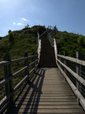 Stairs To Viewing Area Of Sandal Castle