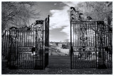 Rowntree Park Gates