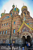 The Church of Our Savior Built Over Spilled Blood