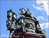 A statue of Russian Csar, Nicolas I