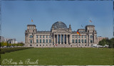 The Reichtag, the house of the Parliament of the German Empire