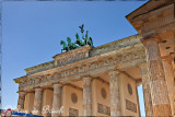 Brandenburg Gate, one of Europe's most famous landmarks