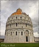 The Baptistry of St. John (Battistero di San Giovanni), Pisa, Italy