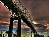 Sault Ste Marie bridge, UP, MI