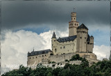 The Marksburg Castle, one of the most beautiful castles along the Rhine