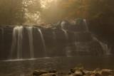 Brushy Falls in Mist