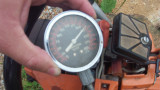 Husqvarna 444SE ported, pop-up piston, 222PSI compression after 3 tanks on a new ring..