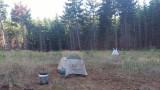 Camping at White Salmon