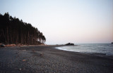 at Ruby Beach in Washington State