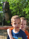 T-Rex and My Cousin