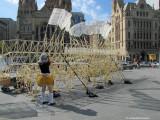 Strandbeest at Federation Square