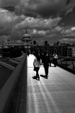 Millenium Bridge, Black and White