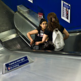 Escalator Conversation