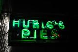 Hubig's Pies Nightime