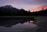 Patricia Lake sunrise