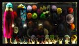 Colourful shop window at Küçük Ayasofya Caddesi