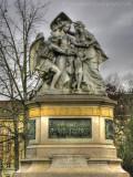 Strassburger Denkmal, Centralbahnplatz