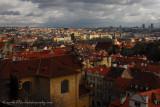 view of Prague from Ke Hradu