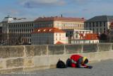 Prague's less fortunate