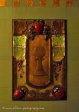 Art Nouveau panel inside Obecní dům