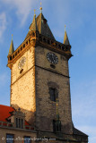 the Clock Tower at the Old Town Square
