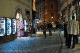 late-night shopping in the Old Town