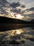 Sunrise at Bush Arm (Kinbasket Lake)