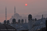Sunrise from Süleymaniye Mosque wall