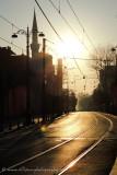 Divanyolu Caddesi sunrise