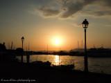old port sunset