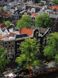 view of the Prinsengracht  from the Westerkerk