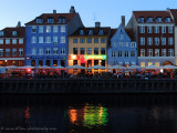 nightfall at Nyhavn