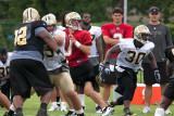 Saints Training Camp 2011    first day back