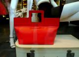 Trussardi red bag