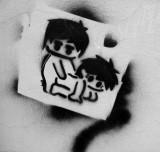 Graffiti b&w Signals